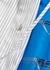 Striped and printed cotton shirt dress - Plan C