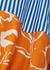 Striped panelled cotton shirt dress - Plan C