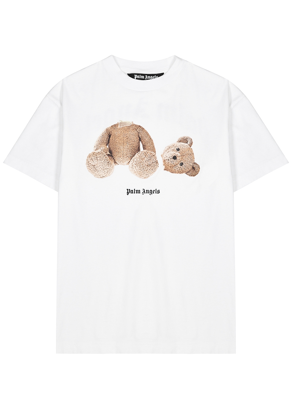 Bear printed cotton T-shirt