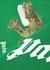 Croco green printed cotton T-shirt - Palm Angels