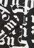 Broken Monogram monochrome cotton shirt - Palm Angels