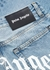 Blue logo slim-leg jeans - Palm Angels