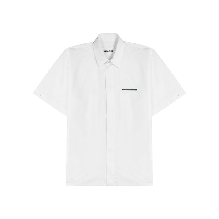 Jil Sander Shirts WHITE COTTON SHIRT