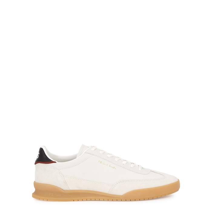 Ps By Paul Smith DOVER WHITE LEATHER SNEAKERS