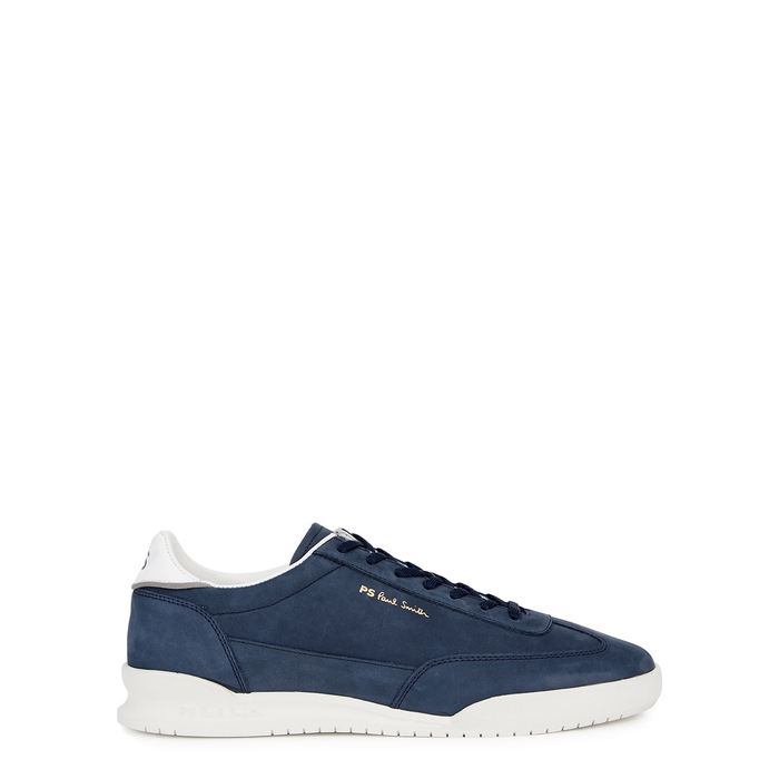 Ps By Paul Smith Sneakers DOVER NAVY NUBUCK SNEAKERS