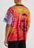 Gail printed cotton T-shirt - BOSSI Sportswear