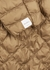 THE CUBE Etrevi camel quilted shell jacket - Max Mara