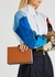 Colour-block leather cross-body bag - Plan C