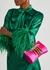 Venus fuchsia satin clutch - Jimmy Choo