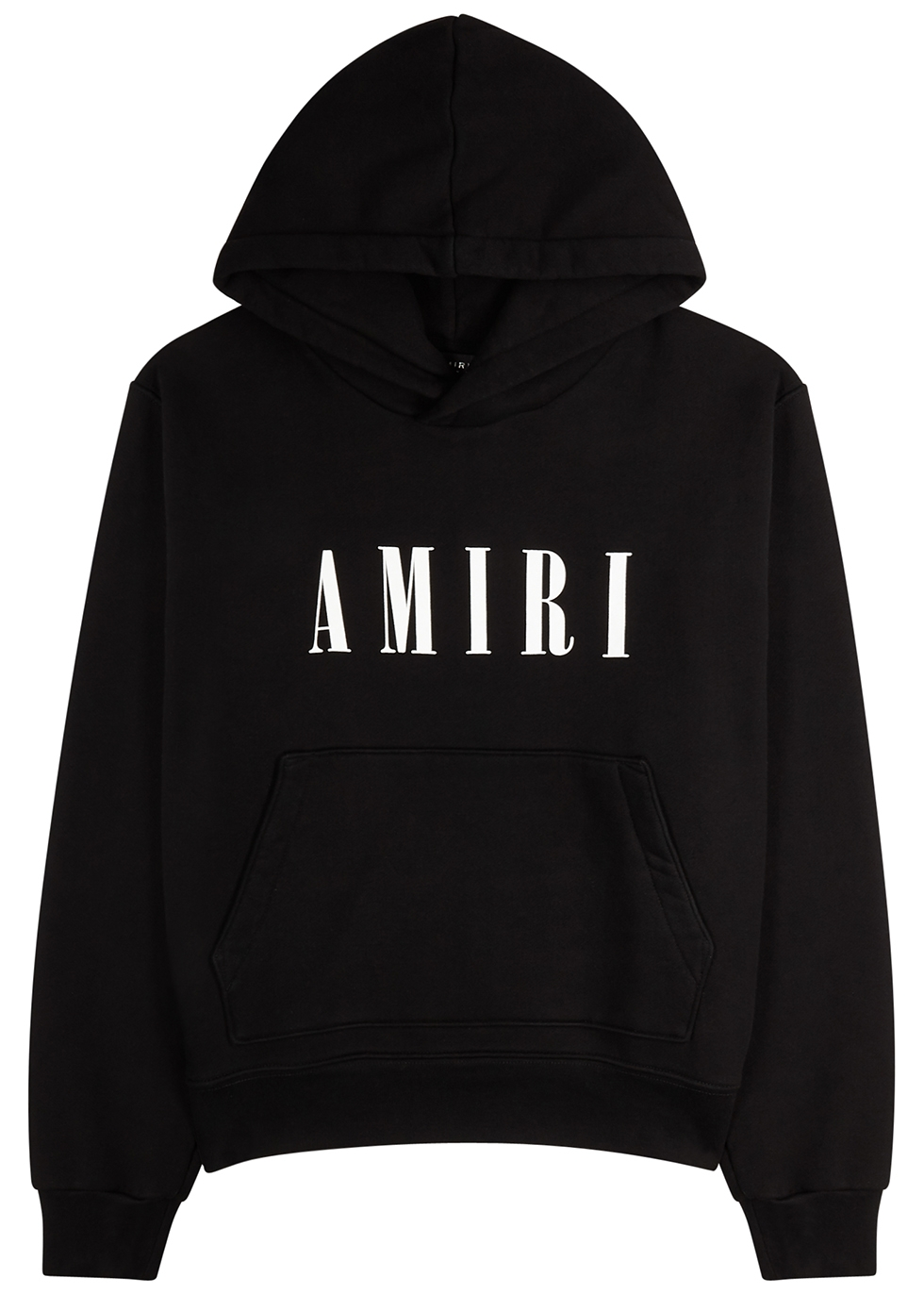 Black logo-print cotton sweatshirt