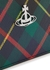 Derby tartan-print faux leather card holder - Vivienne Westwood