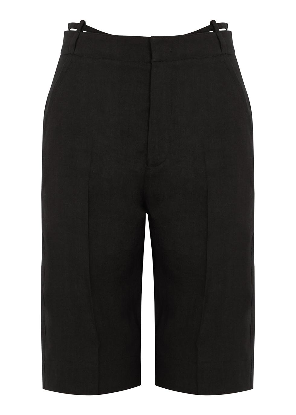 Le Short Gardian black shorts