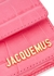 Le Petit Riviera pink leather cross-body bag - Jacquemus