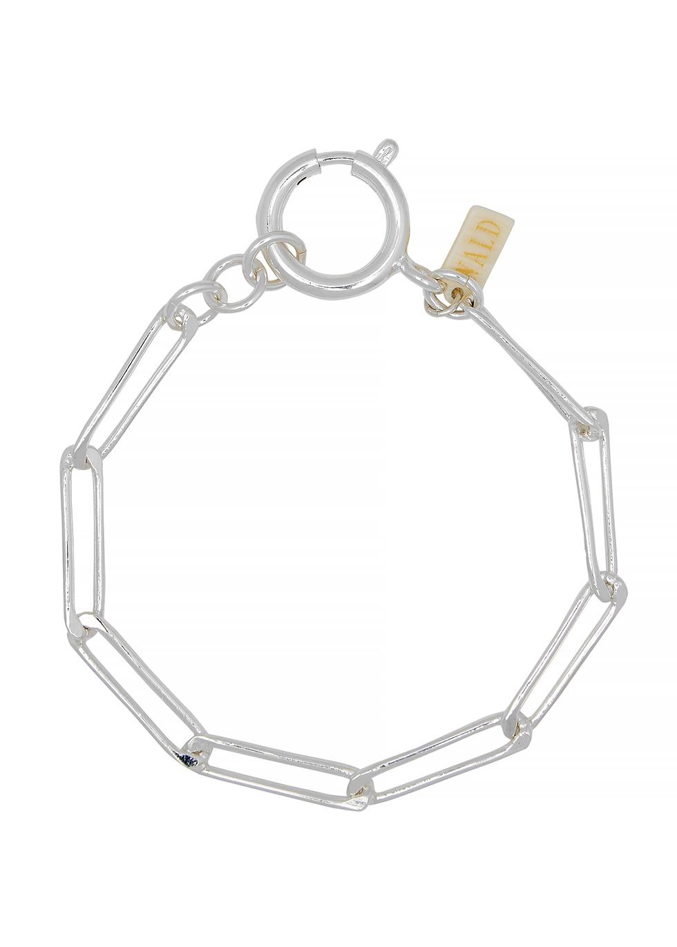 Ashley silver-plated chain bracelet