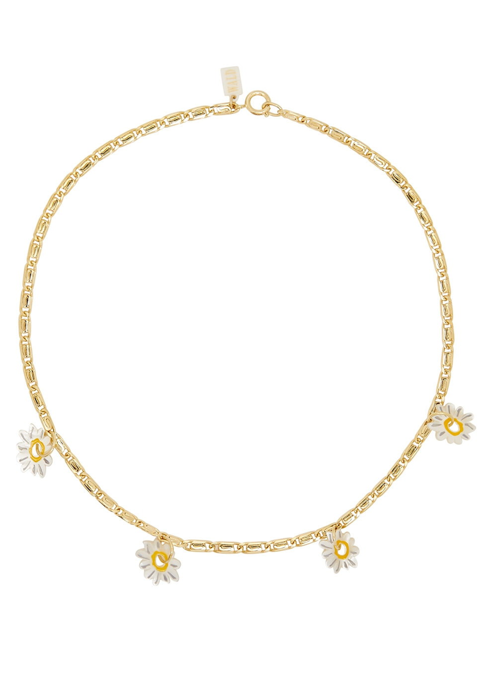 Daisy How High gold-plated necklace