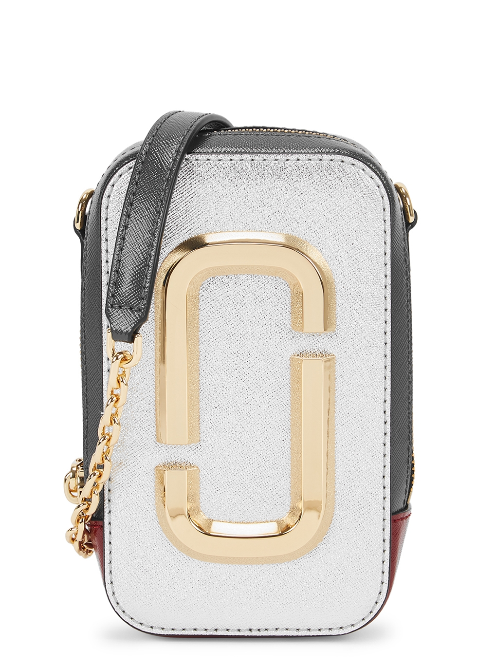 The Hot Shot colour-block leather cross-body bag
