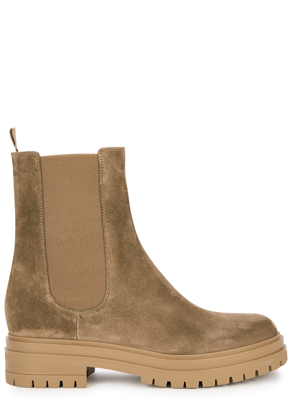 Chester brown suede Chelsea boots