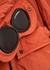 Goggle orange shell jacket - C.P. Company