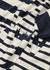 Striped logo cotton top - JW Anderson