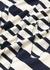 Striped logo cotton T-shirt - JW Anderson