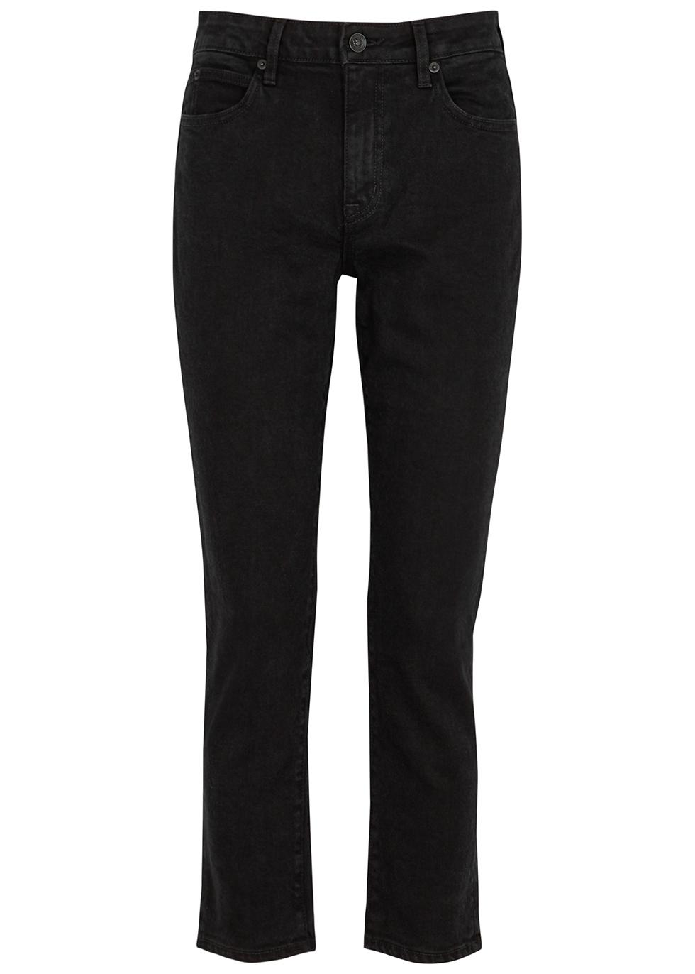 Lou Lou black slim-leg jeans