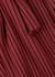 Oz burgundy ribbed jersey top - Simon Miller