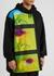 Haspe printed panelled jersey sweatshirt - Dries Van Noten