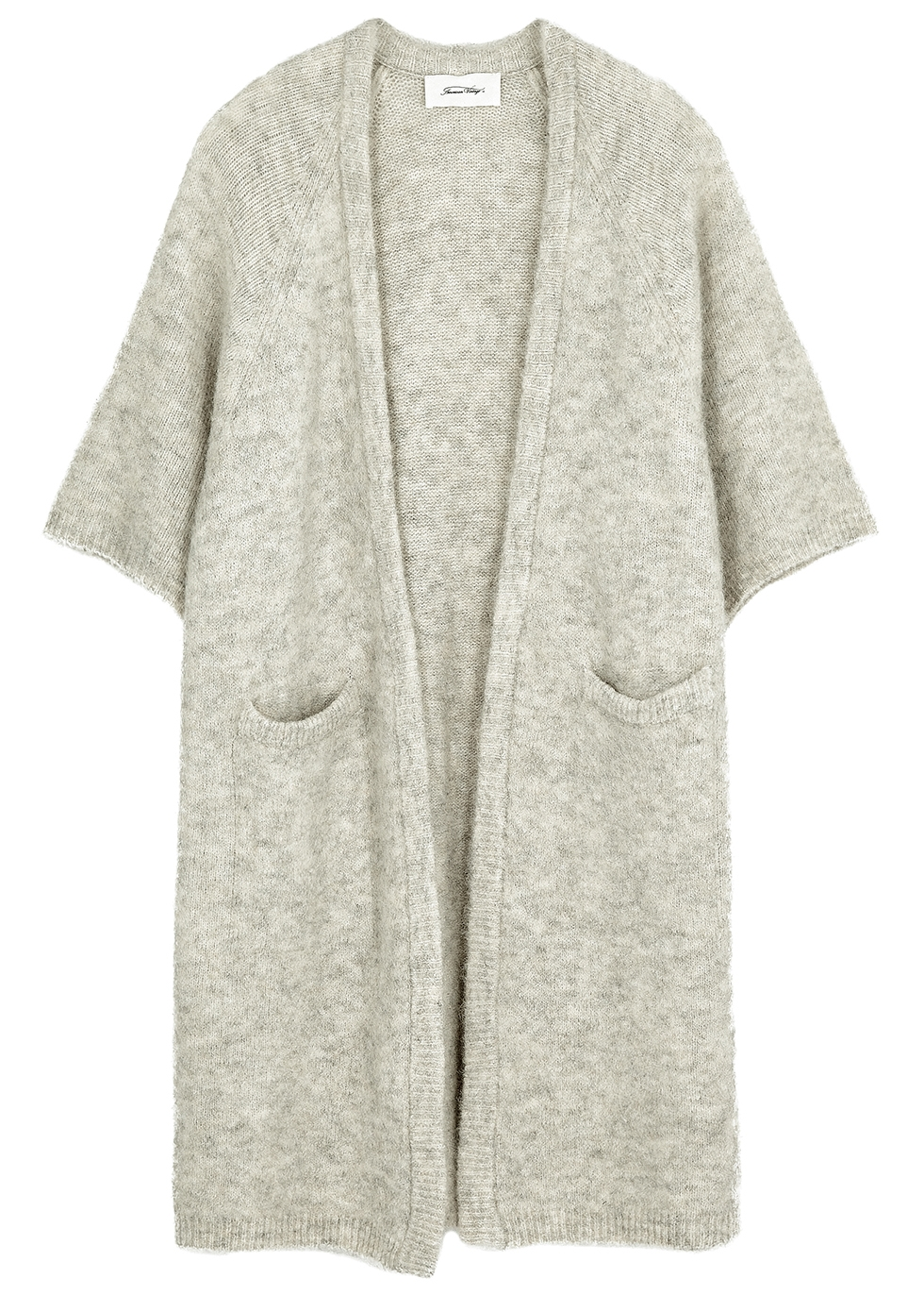 East cream knitted cardigan