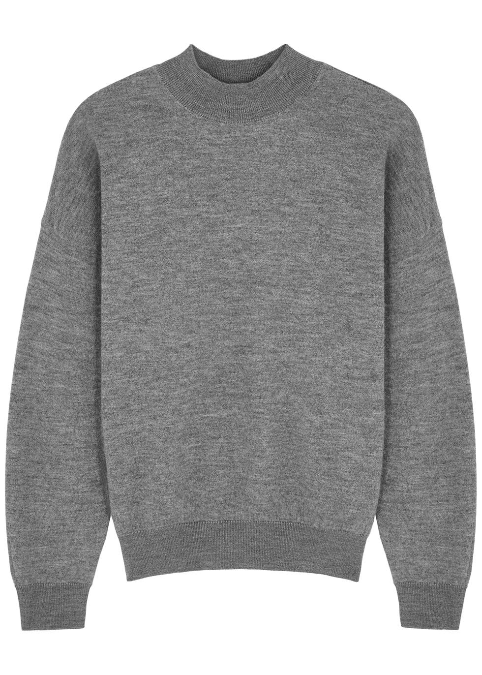 Tadbow pink merino wool jumper