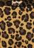 Bonded Active leopard-print leggings - Adam Selman Sport