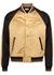 Panelled satin bomber jacket - Saint Laurent