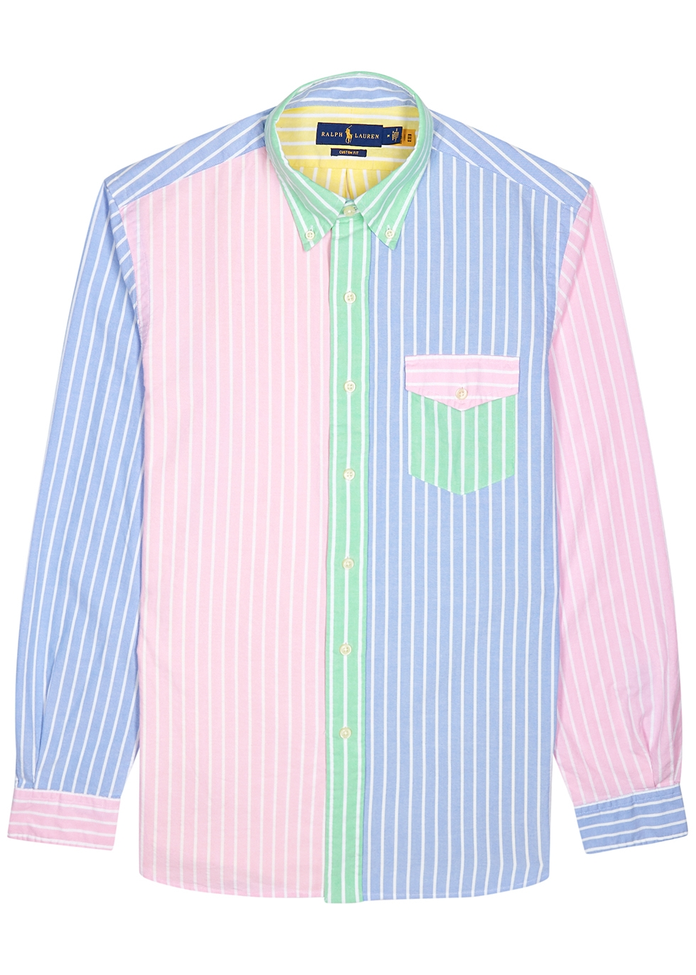 Striped custom cotton Oxford shirt
