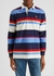 Striped cotton rugby shirt - Polo Ralph Lauren