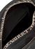 Biker Skull black canvas cross-body bag - Alexander McQueen