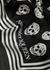 Biker skull-print modal scarf - Alexander McQueen