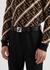 Black reversible leather belt - Fendi