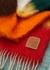 Striped mohair-blend scarf - Loewe