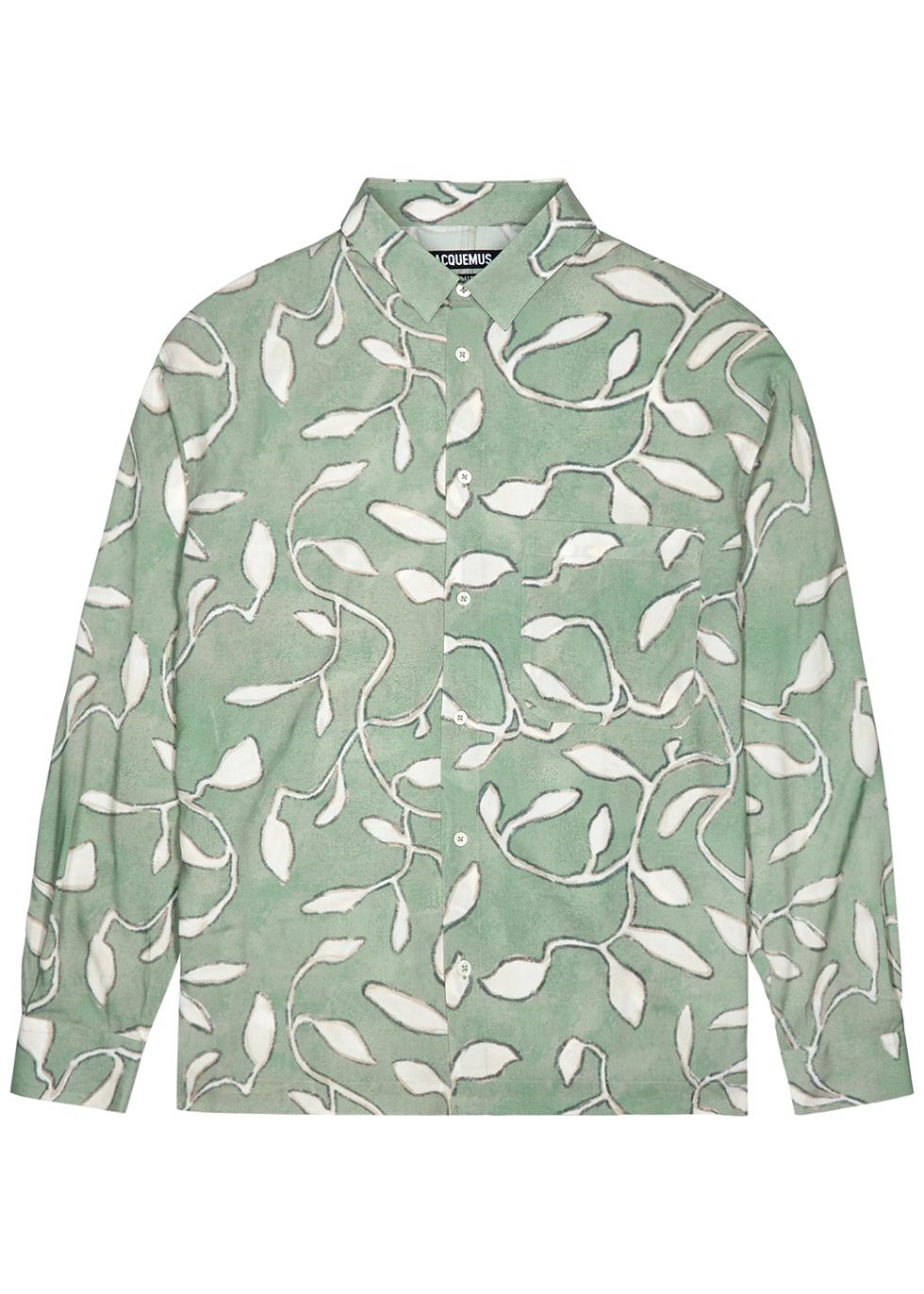 La Chemise Baou printed viscose shirt