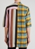 Faun contrast-print panelled shirt - Rick Owens