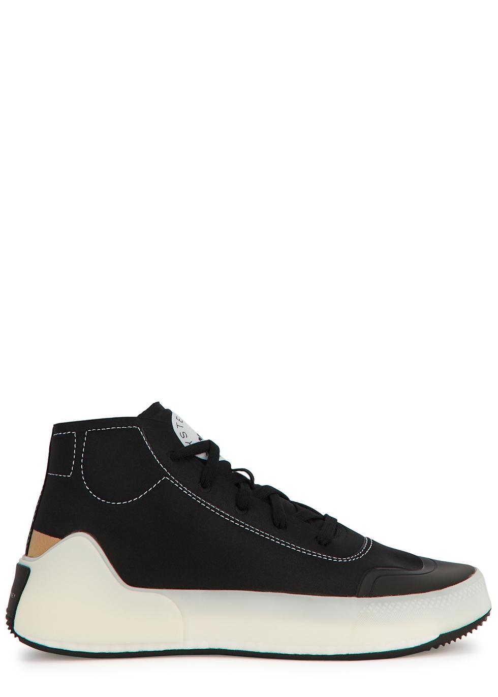 Treino black Primegreen hi-top sneakers