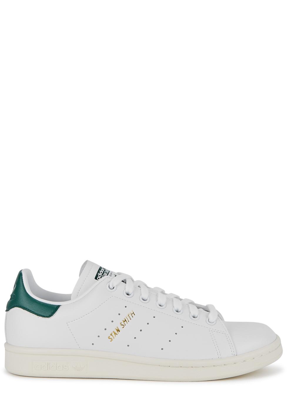 Stan Smith white Primegreen faux leather sneakers