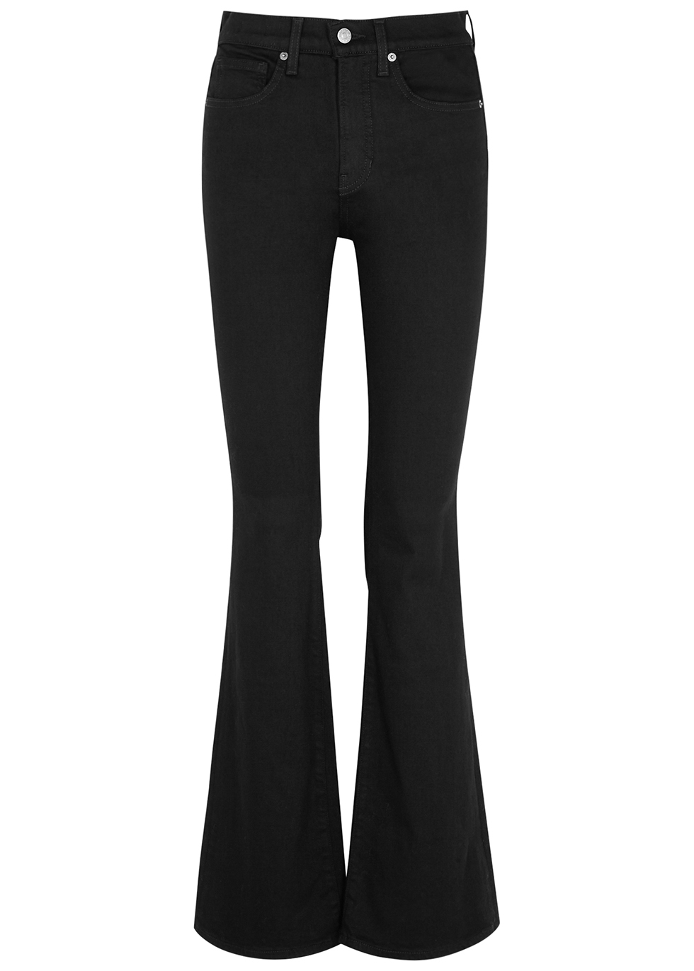 Beverly black flared jeans