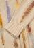 Rick stripe-intarsia cotton-blend jumper - NN07