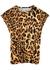 Leopard-print stretch-jersey top - Paco Rabanne