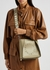 Stella Logo mini taupe cross-body bag - Stella McCartney