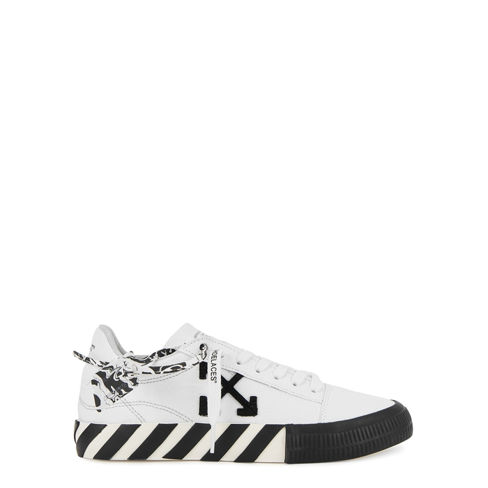 Off-White Low tops LOW VULCANIZED WHITE CANVAS SNEAKERS