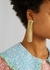 Grand Fil d'Or gold-plated drop earrings - Anissa Kermiche
