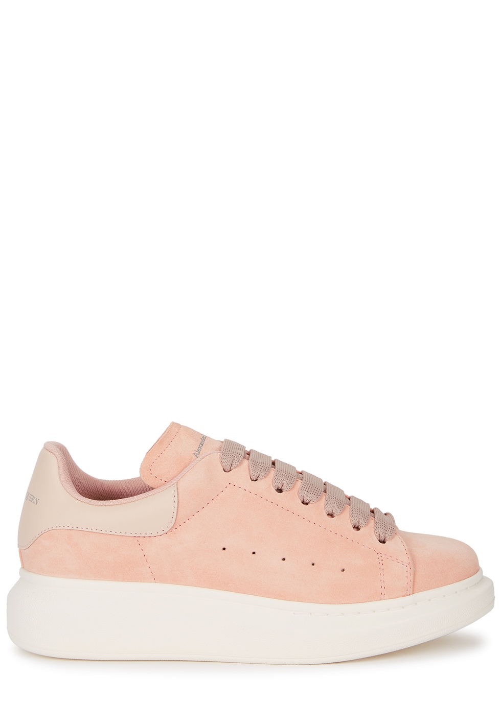 Larry blush suede sneakers