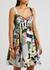 Printed cotton mini dress - Dolce & Gabbana