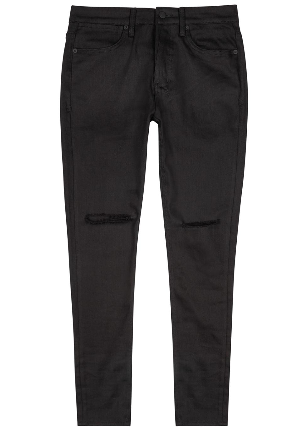 Van Winkle distressed skinny jeans